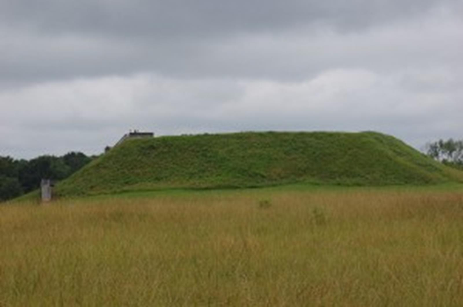 The Great Temples Mound is part of the Ocmulgee National Monument