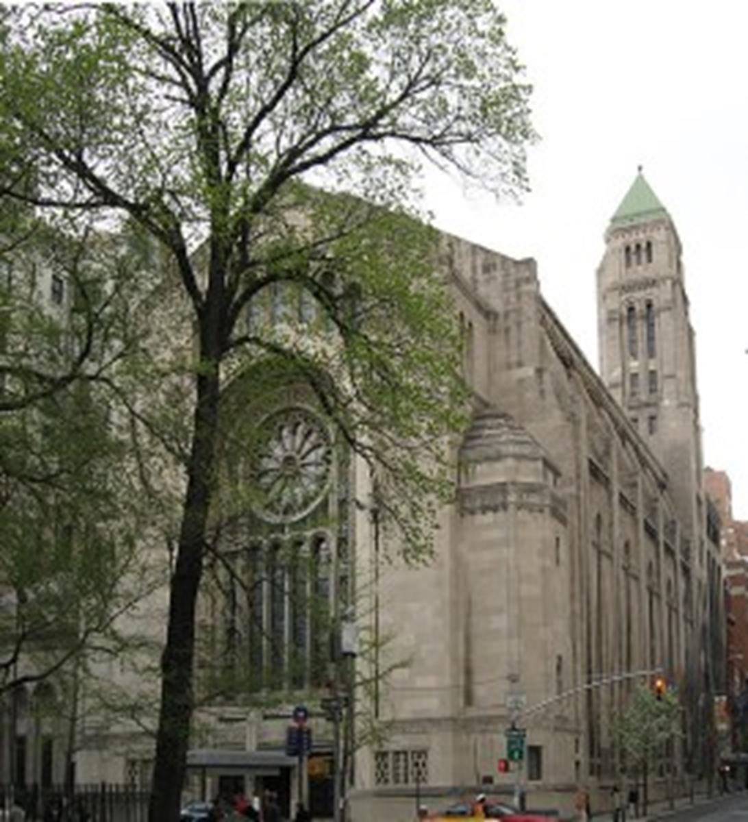 Temple Emanu-El in New York, New York