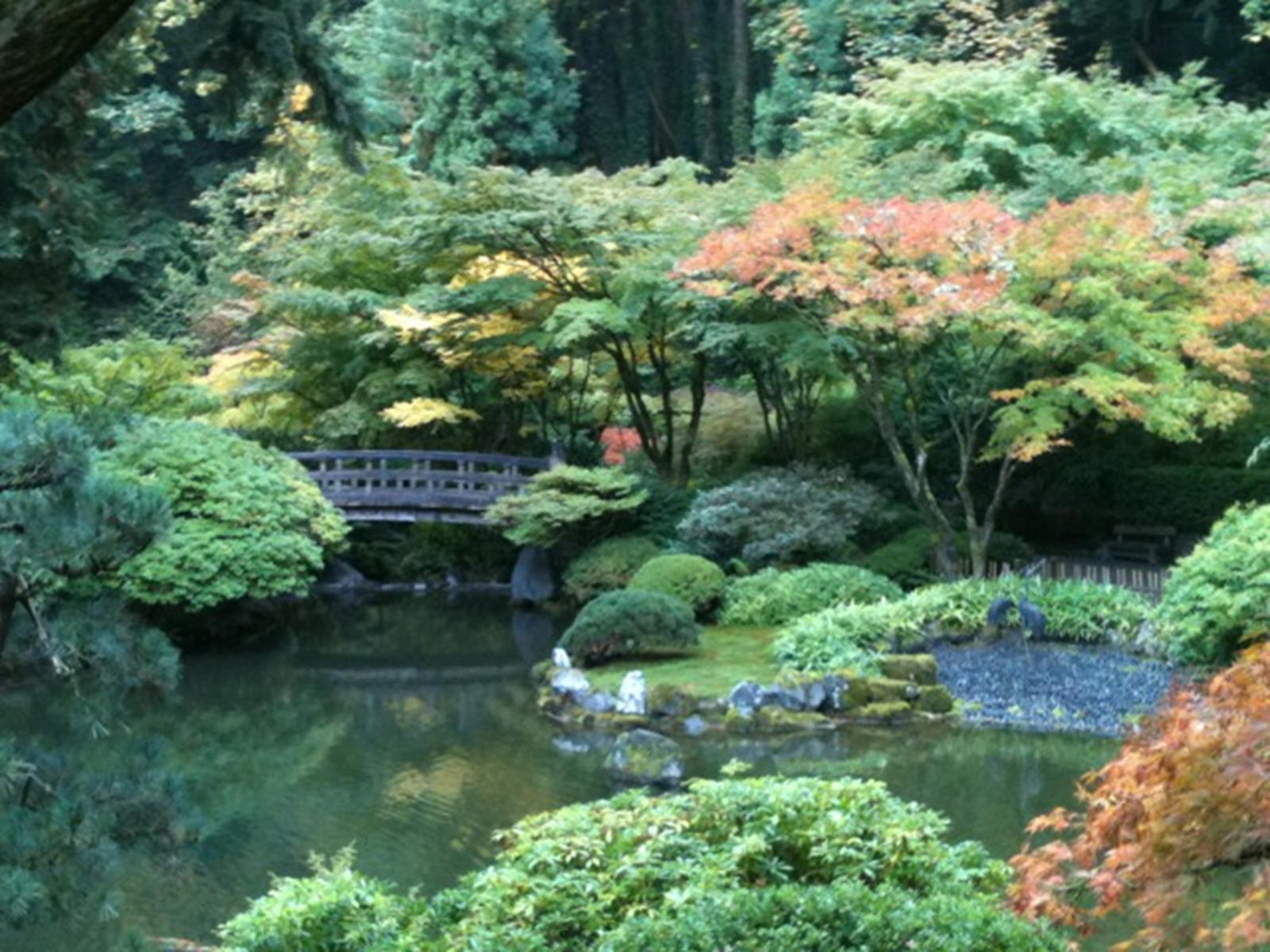 Portland oregon beckons religious travel groups for Japanese pond garden