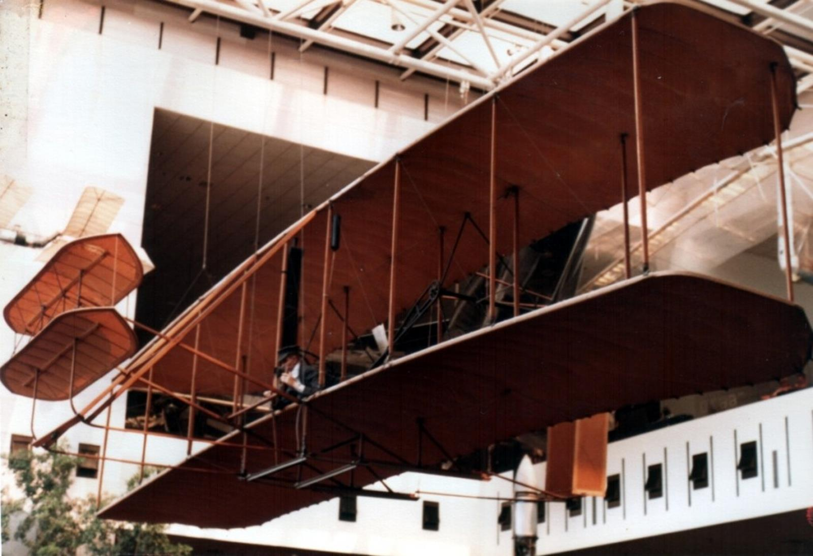Wright Flyer at the Smithsonian