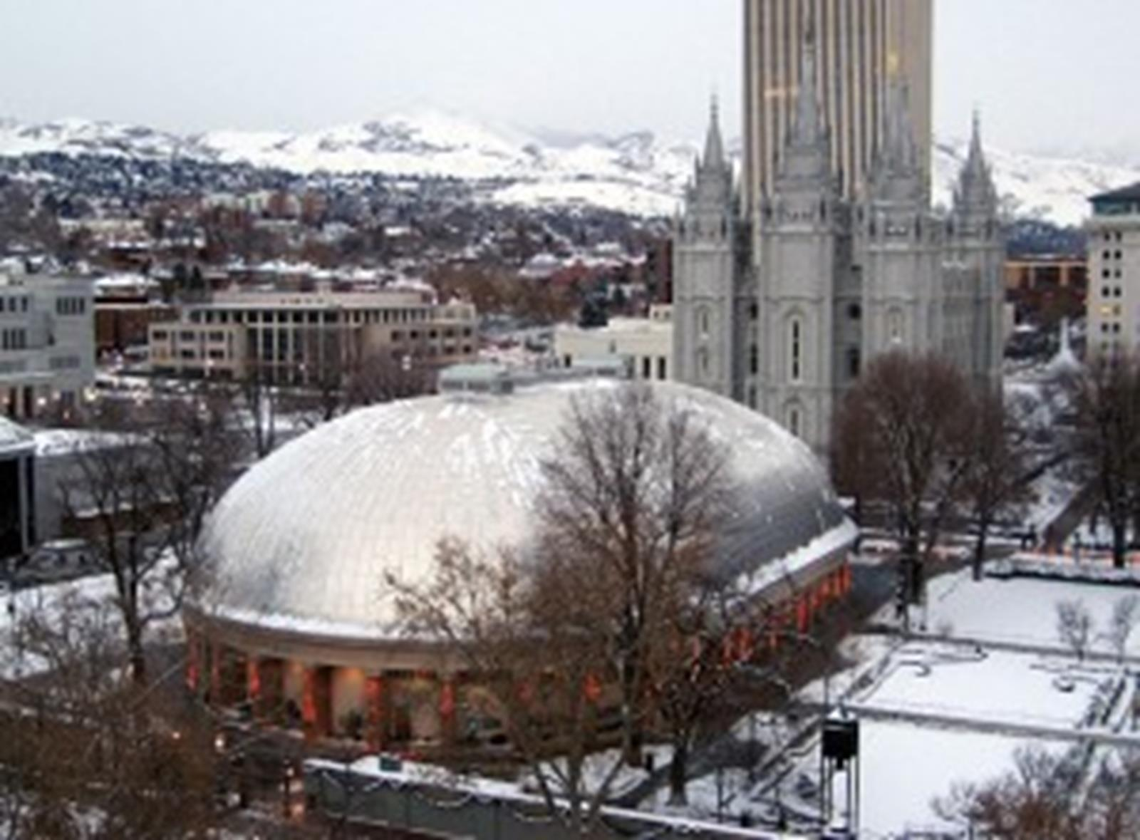 The Tabernacle on Temple Square
