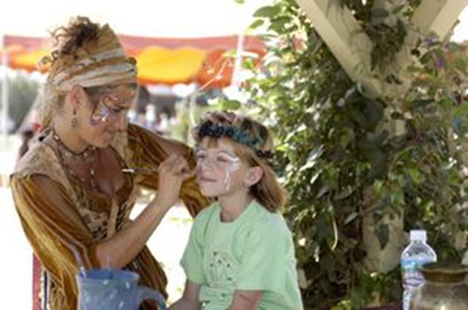 enjoy-the-endless-festitivies-including-its-famous-face-painting-at-the-Carolina-Renniaaance-Festival.