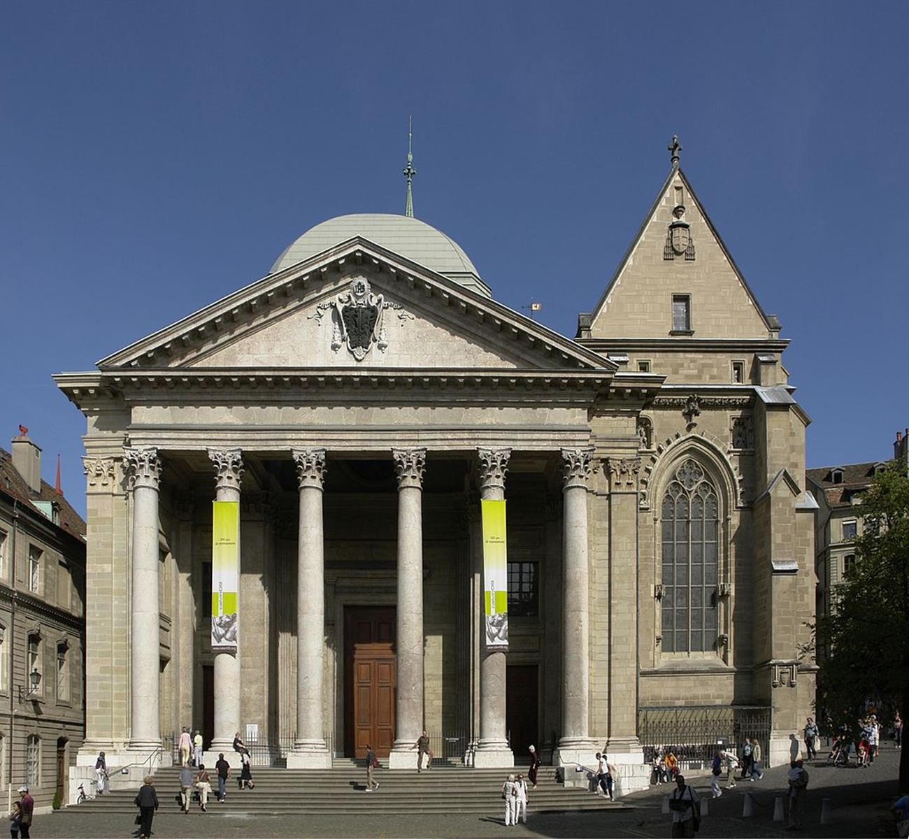 St. Pierre Cathedral in Geneva where John Calvin preached