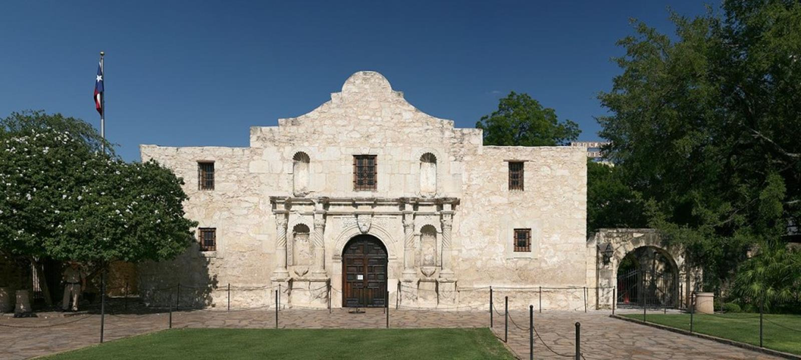 The Shrine of the Alamo Mission