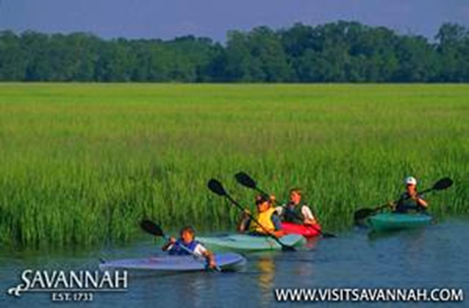 Head outside of Savannah to see all the beauty the surrounding area has to offer