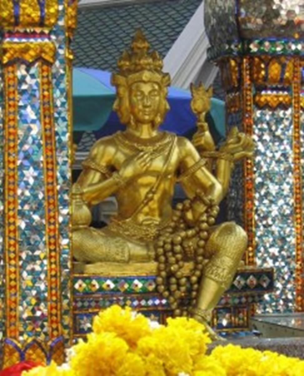 The Four-Faced Brahma Shrine
