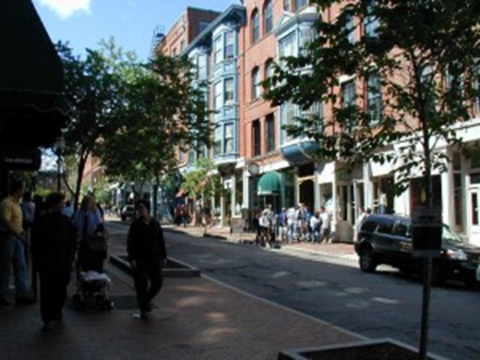 Exchange Street in Old Port