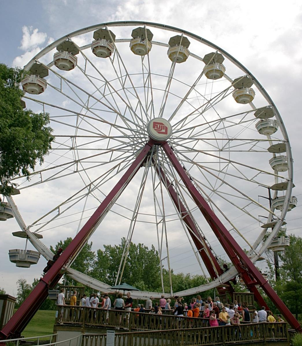 Giant Skywheel at Adventureland