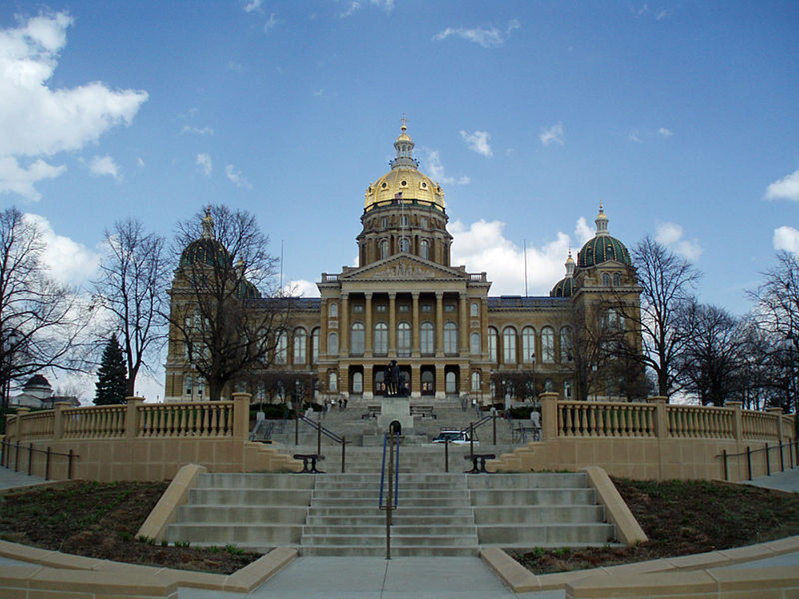 The Iowa State Capitol Building