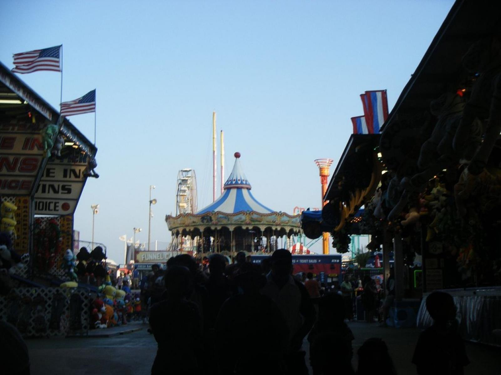 Steel Pier From the Entrance
