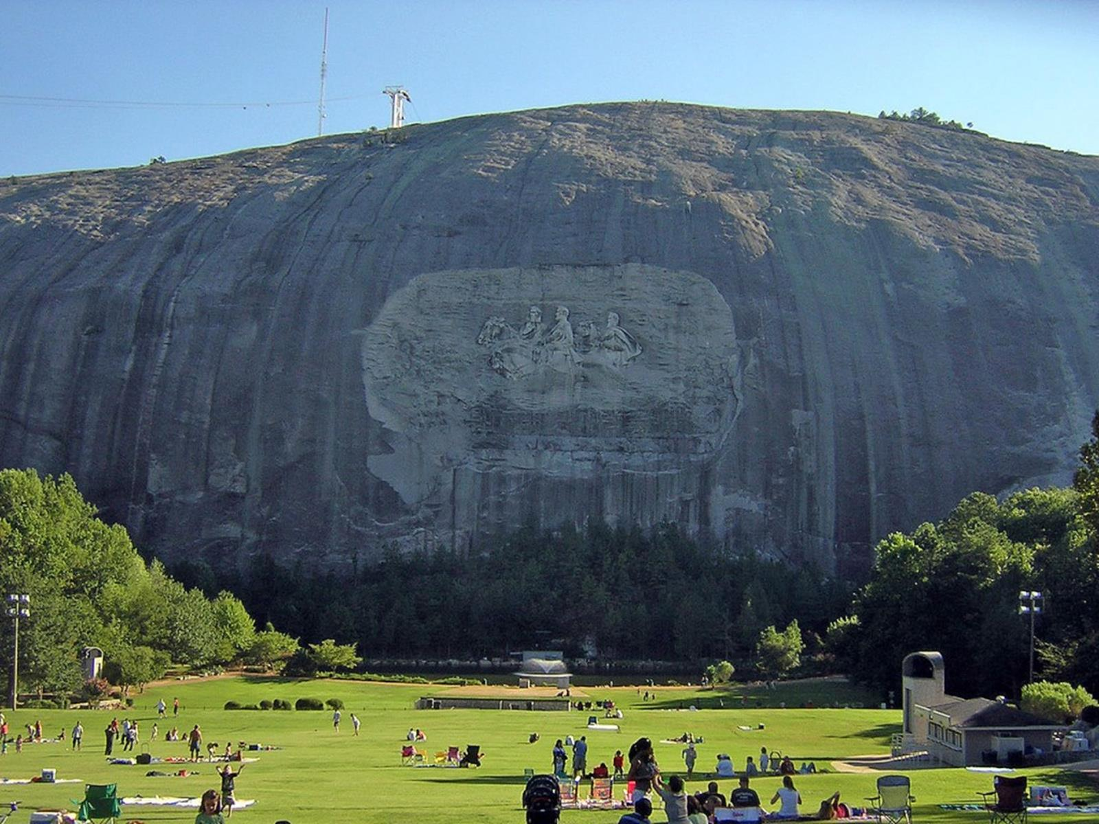 Stone Mountain and Carving