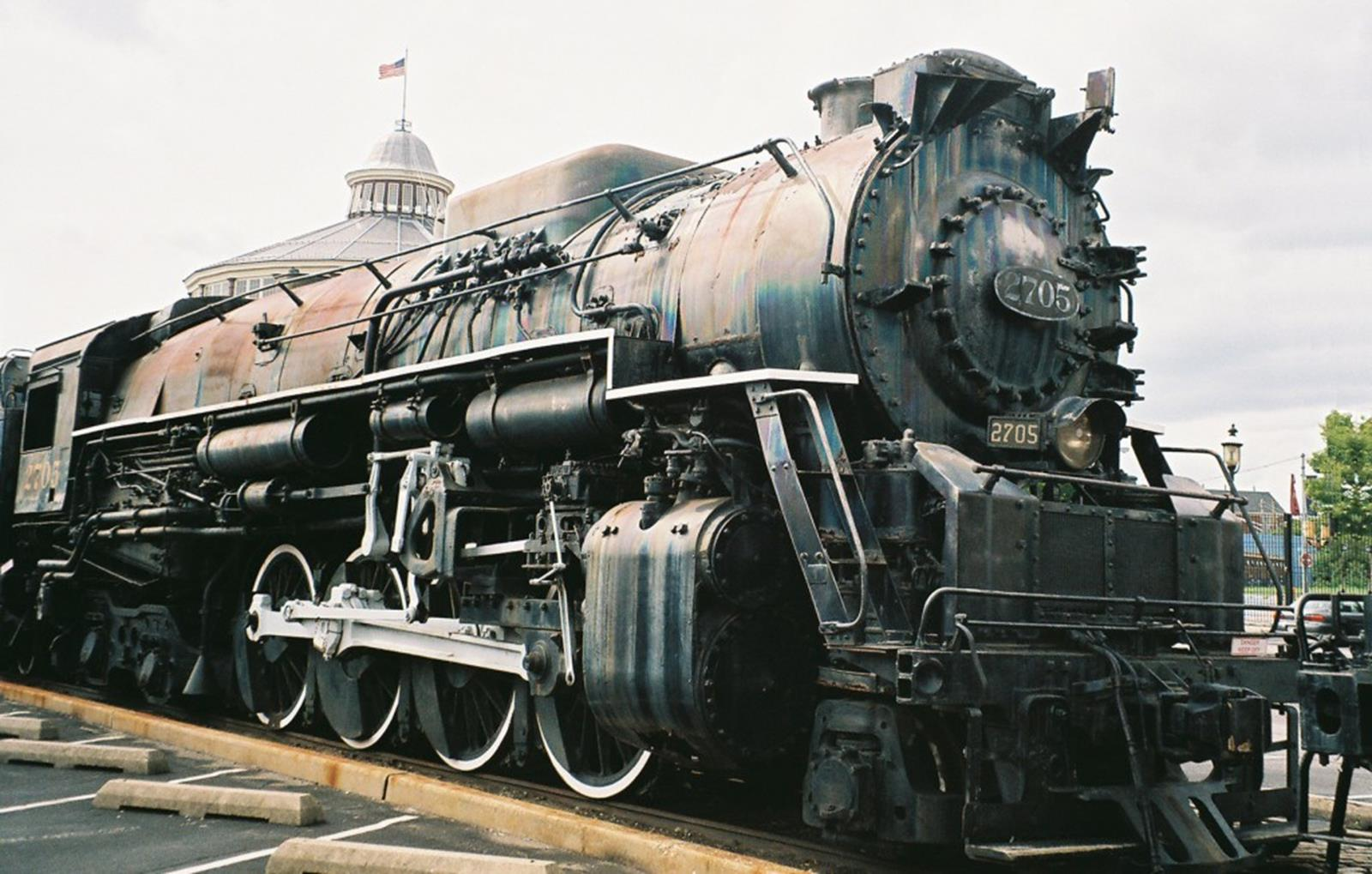 "C&O's Locomotive ""Big Mike"""