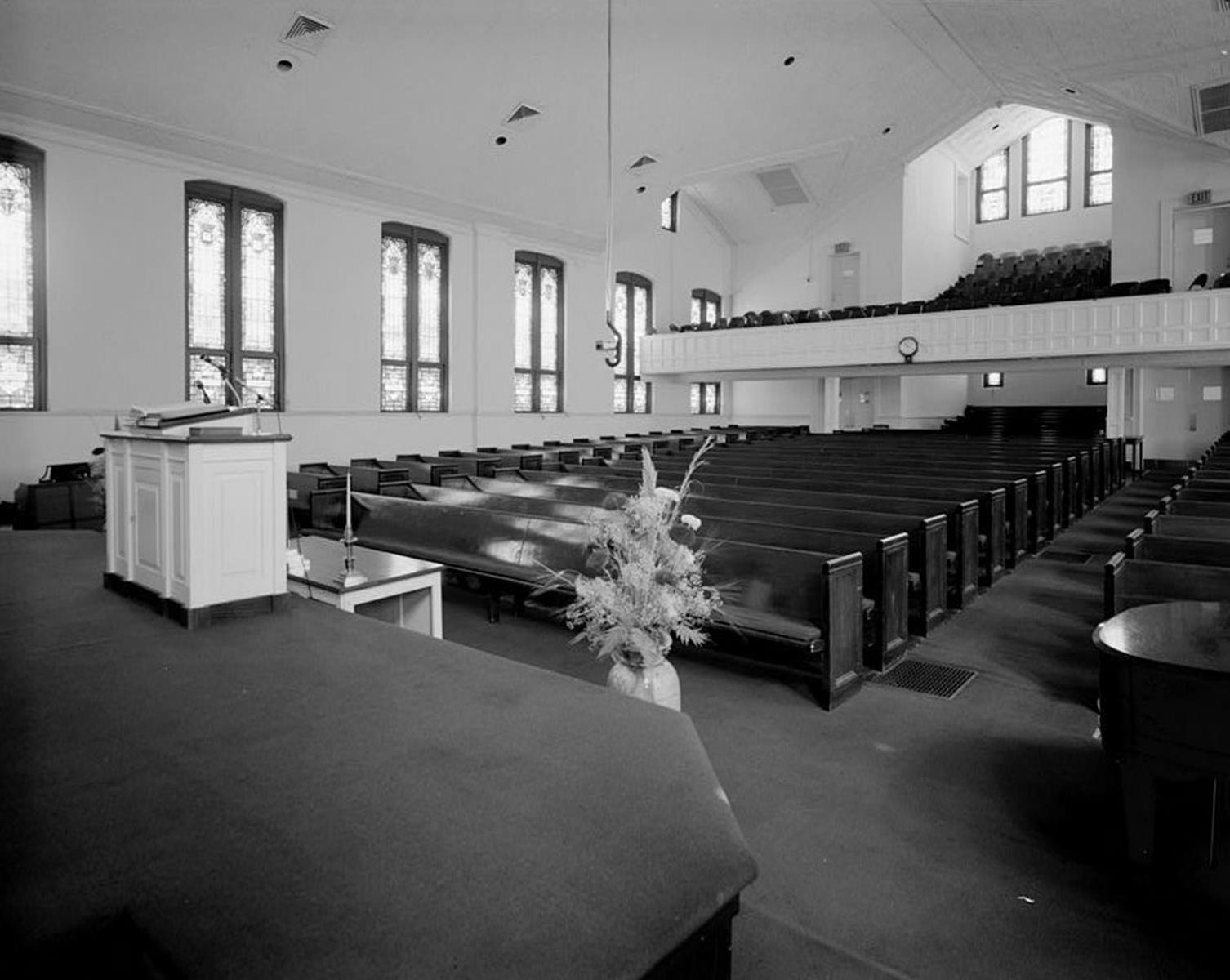 Ebenezer Baptist Church View From the Pulpit