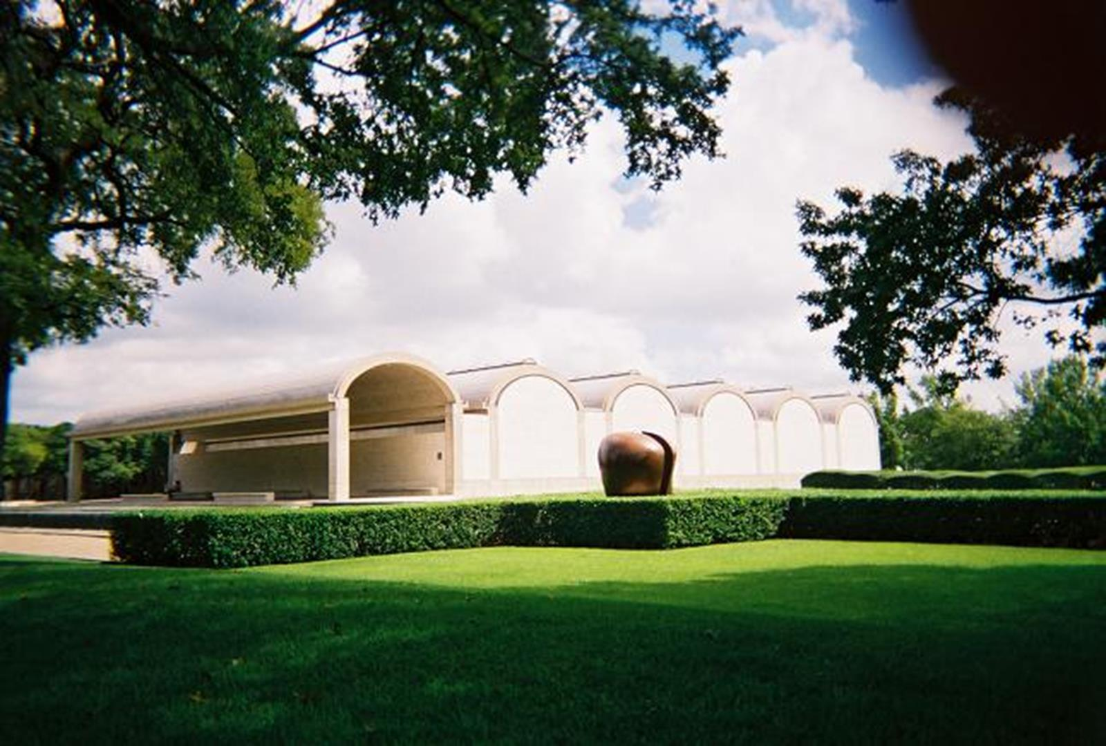 The South Wing of the Kimbell Art Museum