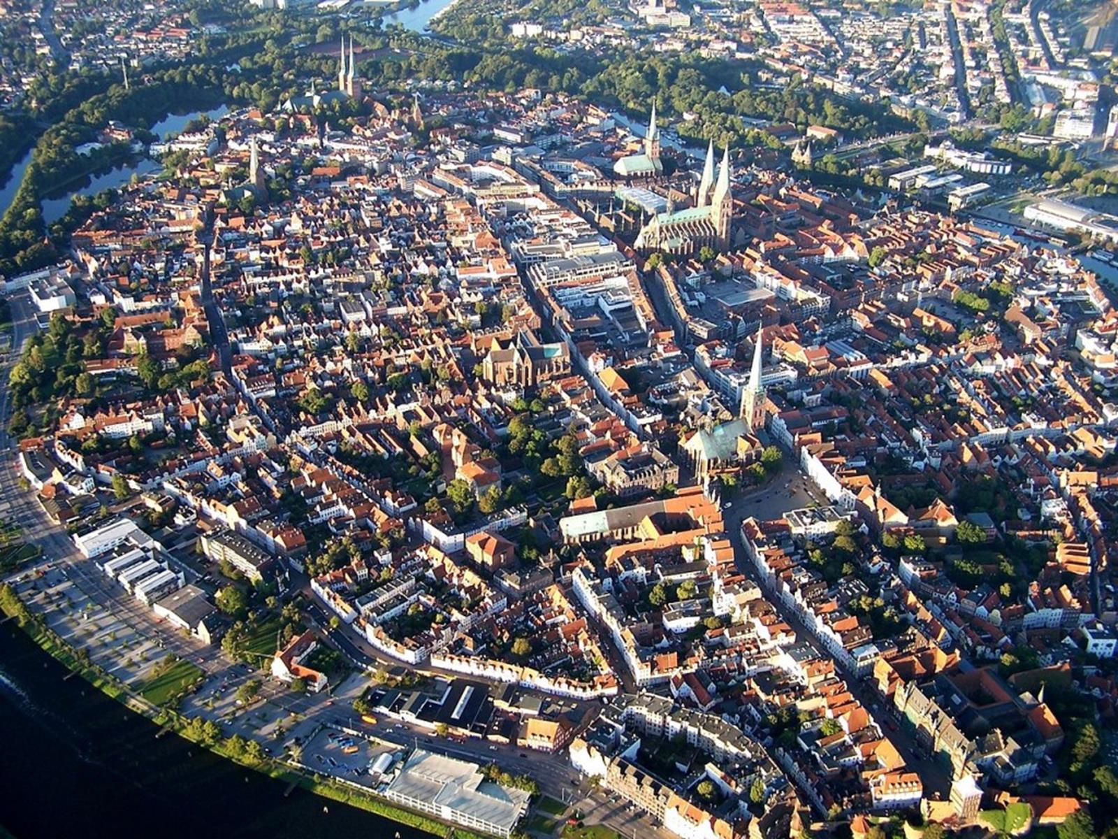 Ariel View of Old Town