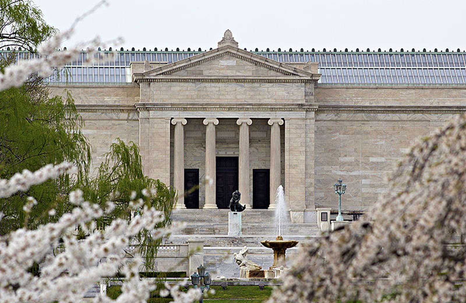 Cleveland Museum of Art in the Springtime
