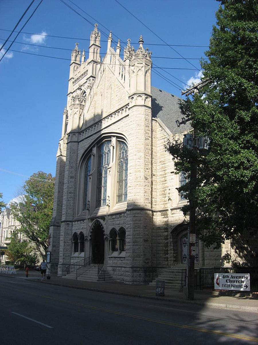 Fourth Avenue MethodistChurch in Old Louisville