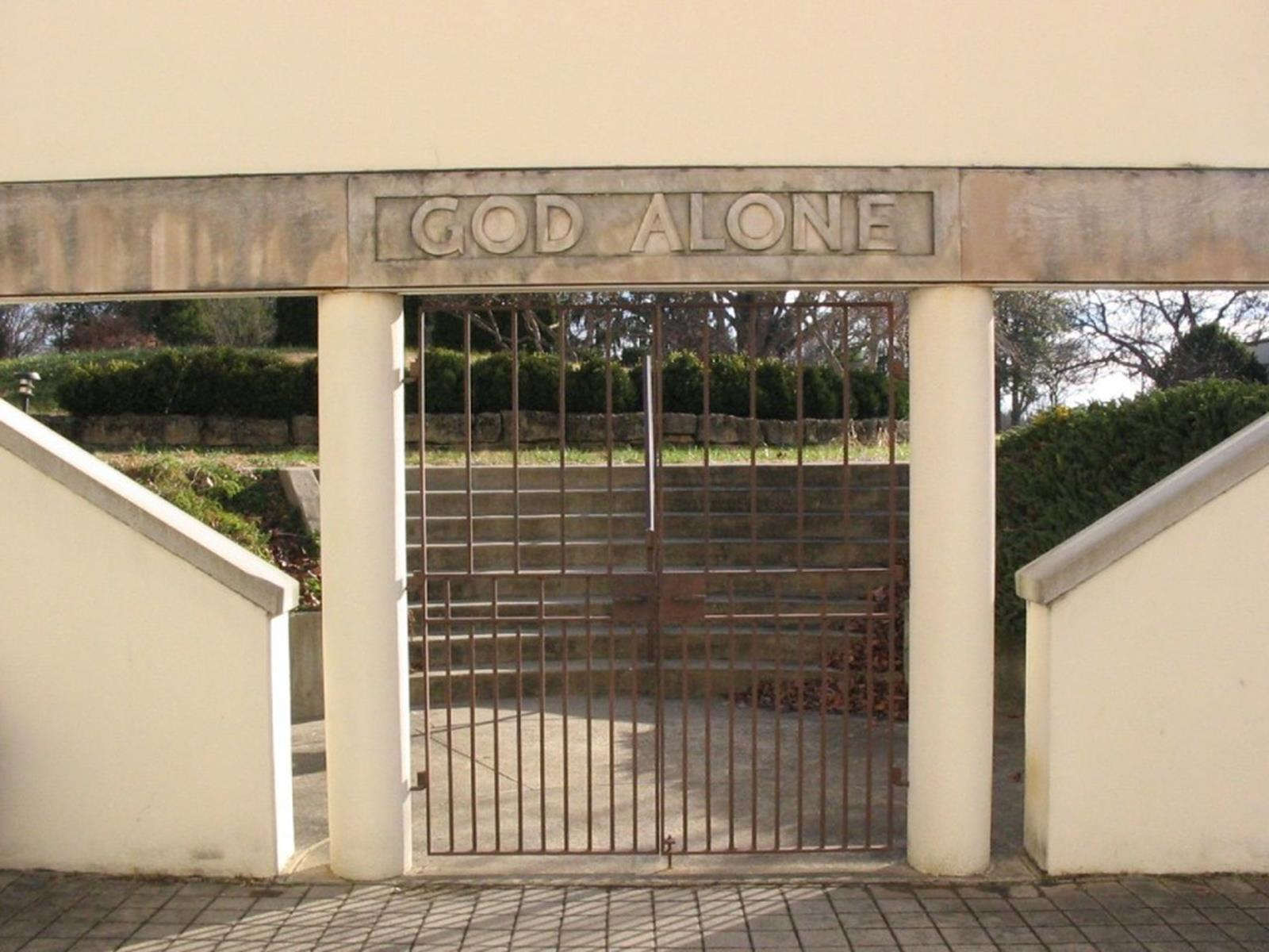 Garden Entrance Gate at Abbey of Gethsemani