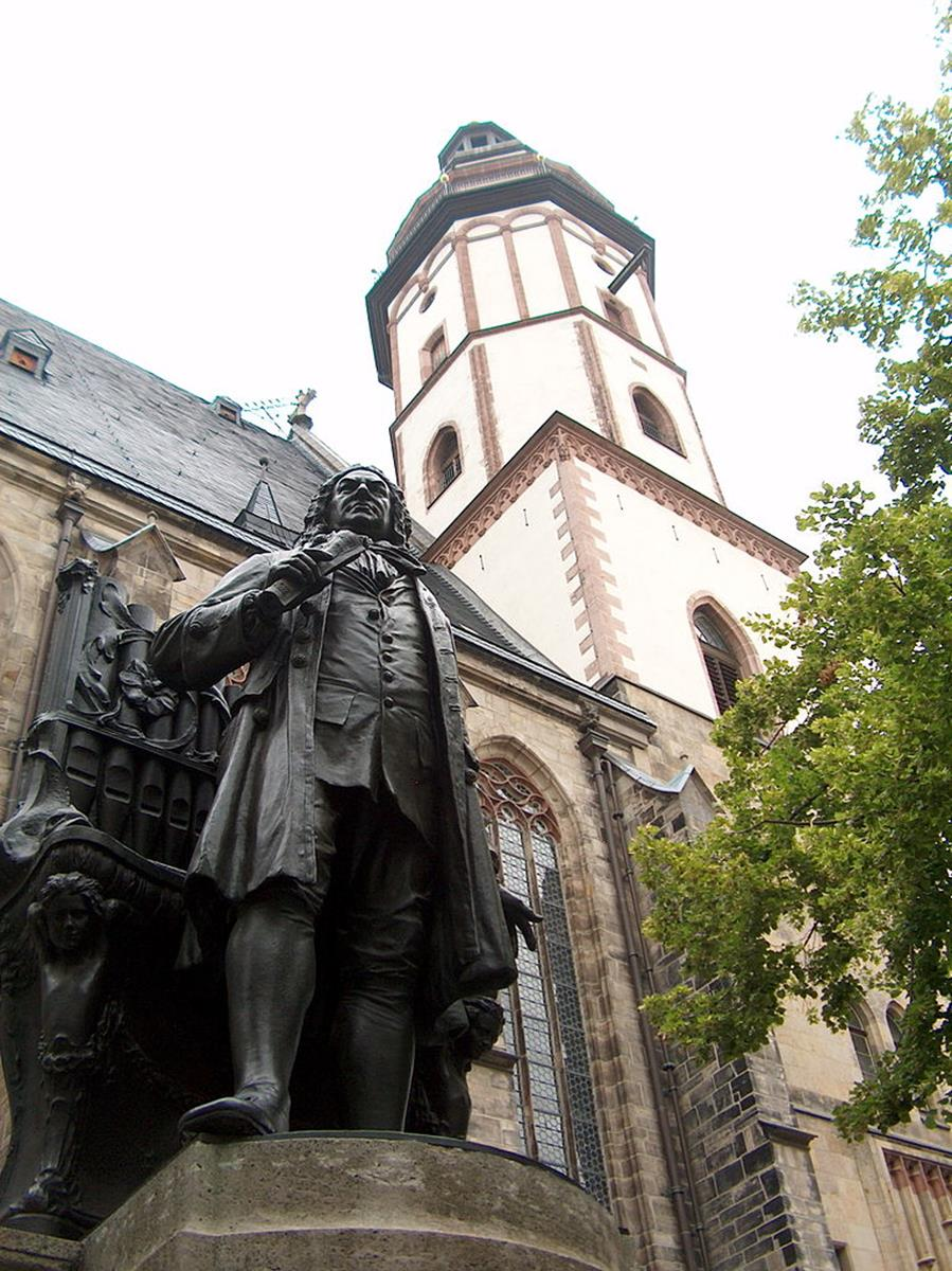 St. Thomas Church Bach Statue