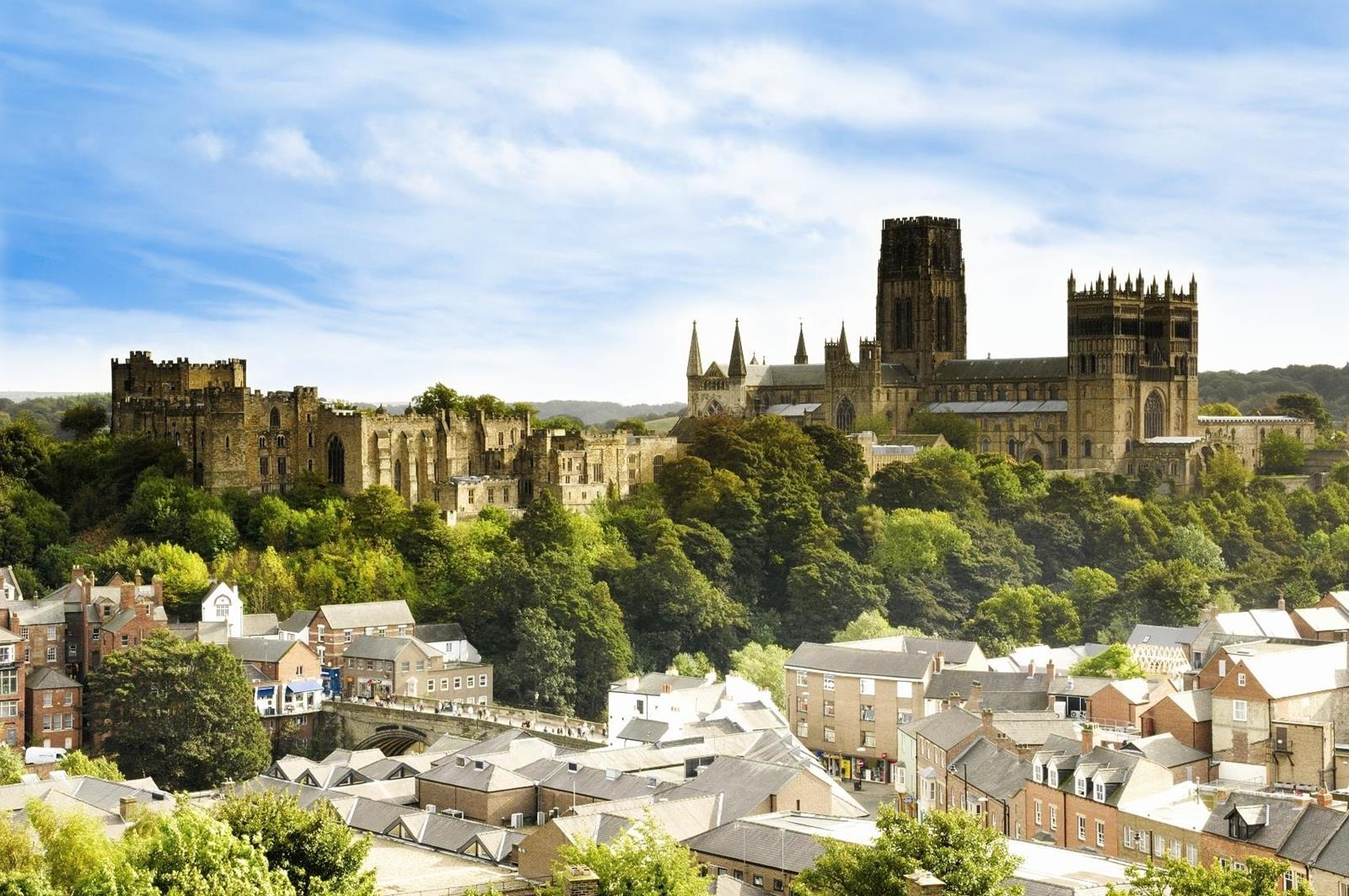 Durham Castle and Cathedral, Unesco World Heritage Site, Durham City