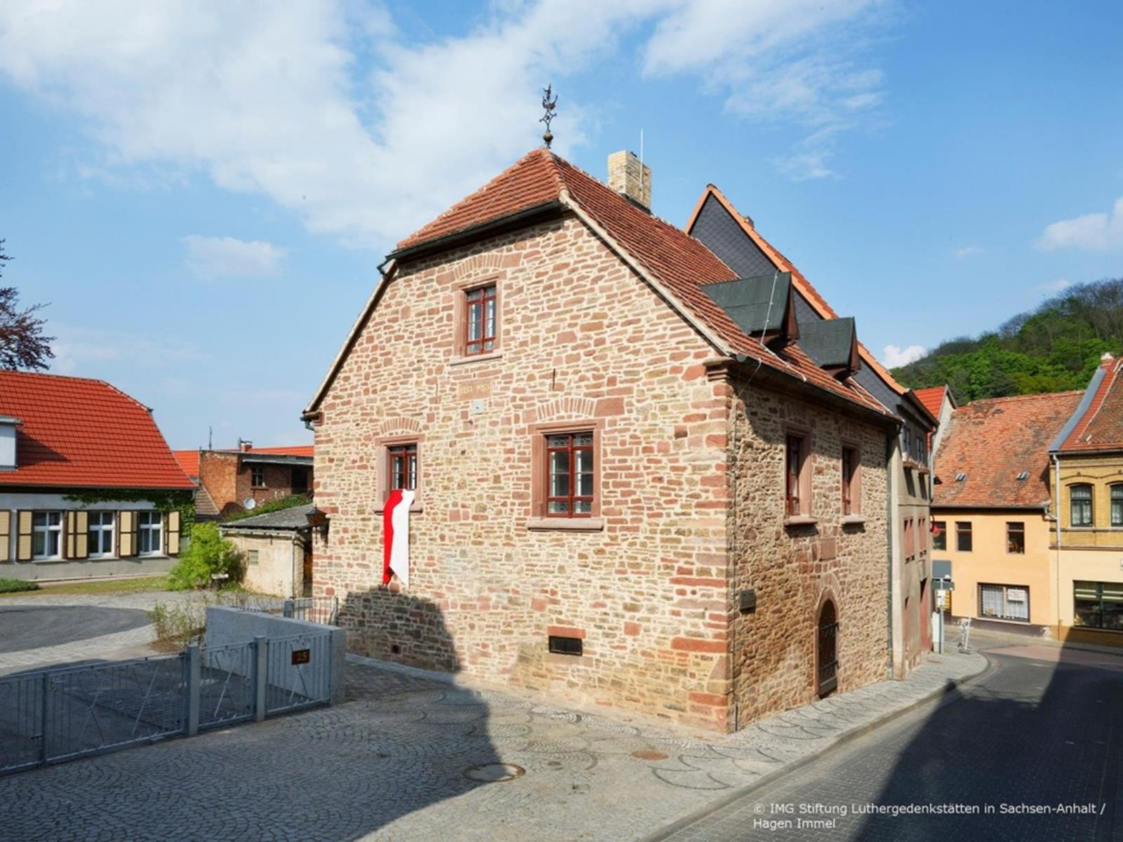 Luther's Parents' Home - Hagen Immel Luther Memorial Foundation Saxony-Anhalt