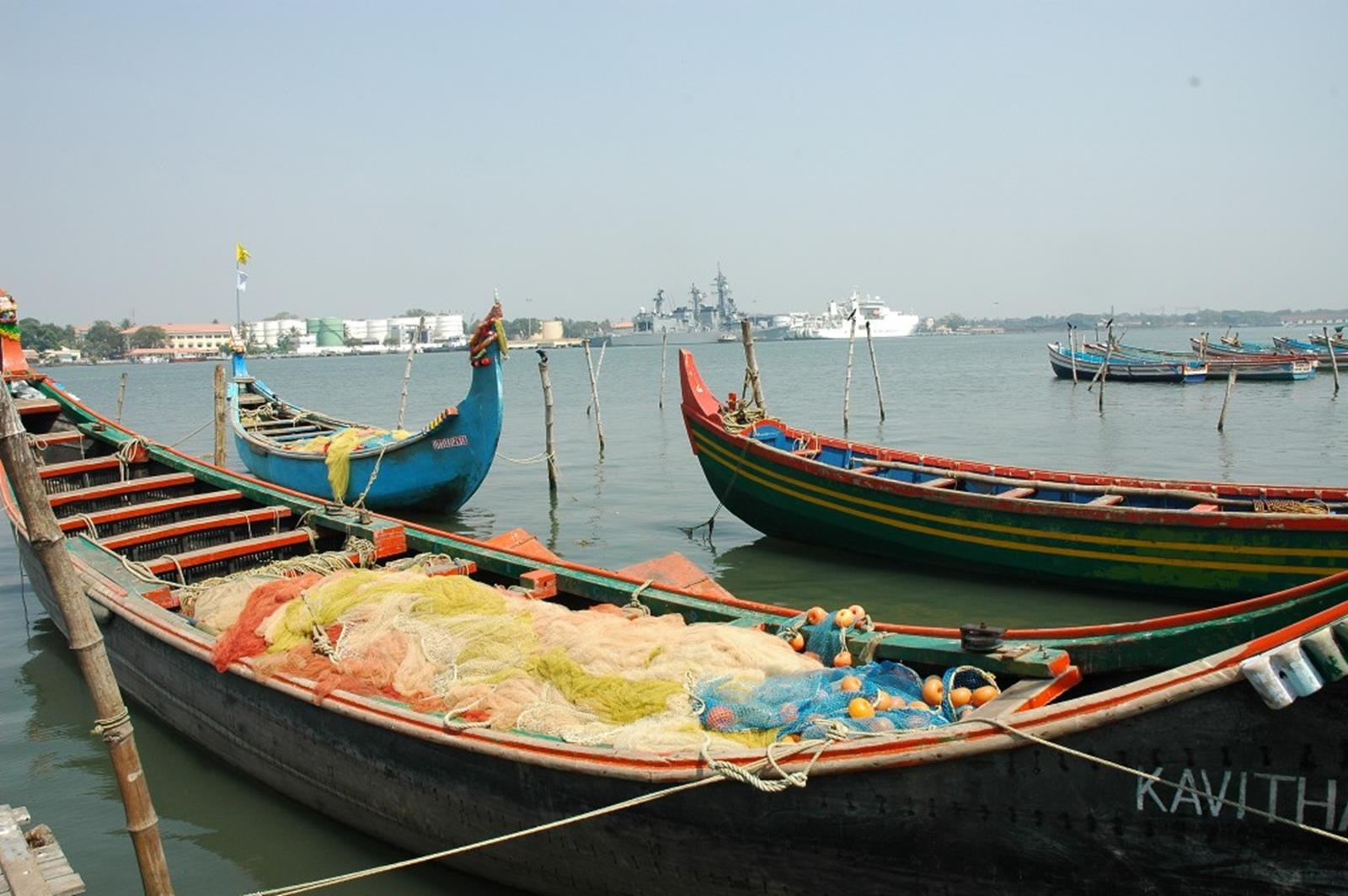 Fishing boat at Kochi fort – Photo by Prashant Ram, CC BY-ND 2.0