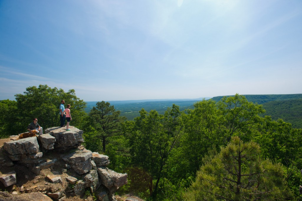 Mount Nebo State Park Hiking Rim Trail