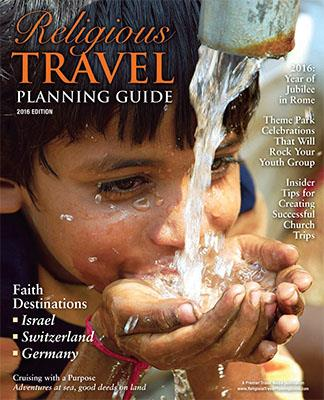 2016 Religious Travel Planning Guide cover