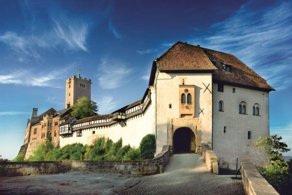 Wartburg Castle in Eisenach. Credit Anna-Lena Thamm/Thuringia Tourist Board