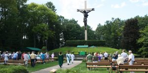 National Shrine of the Cross in the Woods, Indian River, Michigan - 20 sites