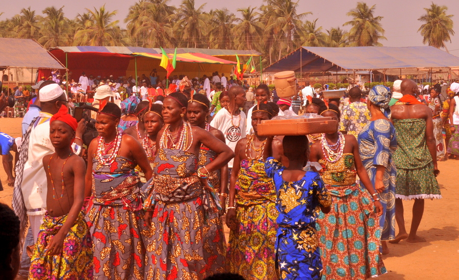 Ouidah International Voodoo Festival, Benin