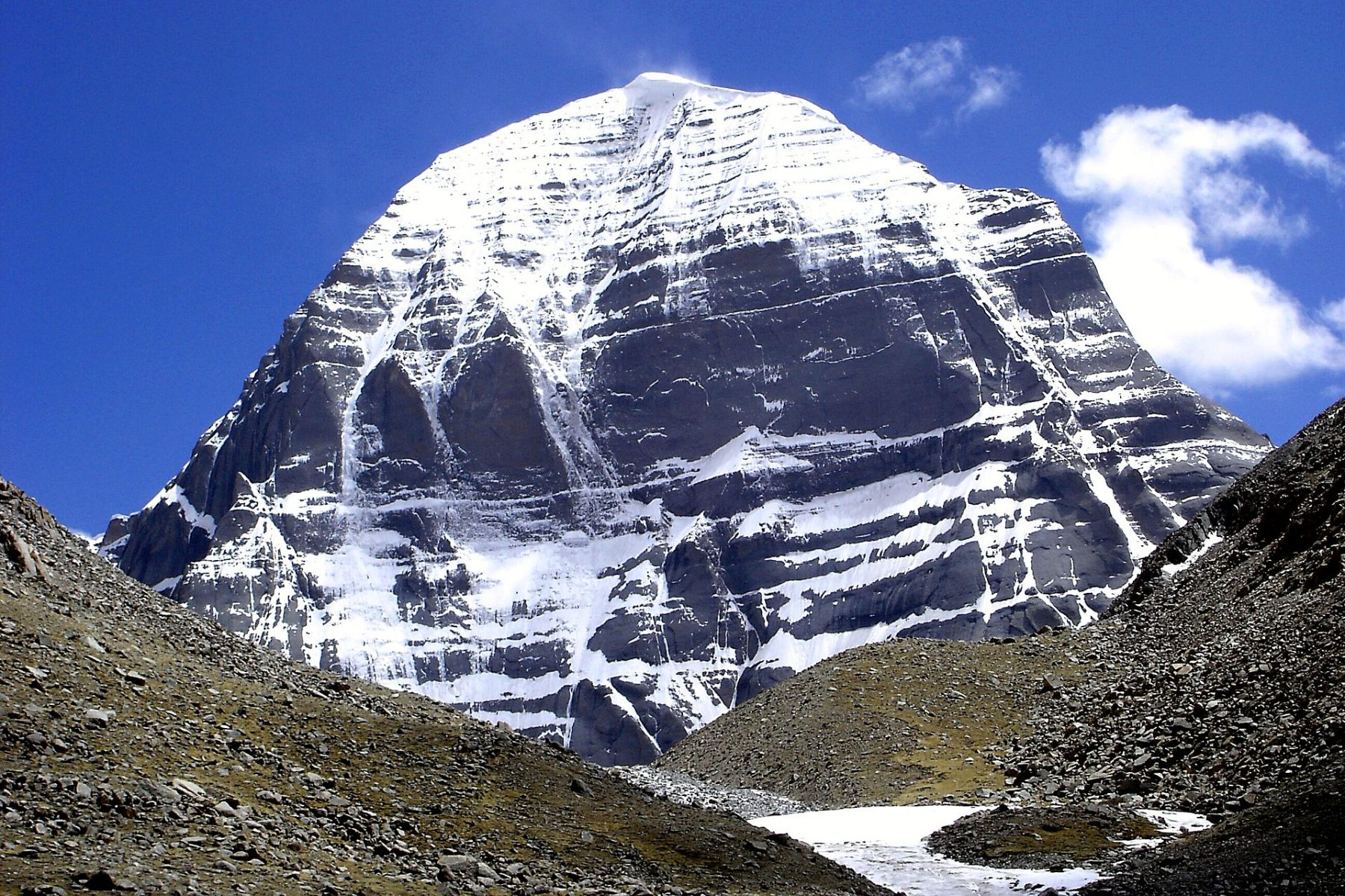 Northern side of Mt Kailash (Tibet Autonomous Region, People's Republic of China
