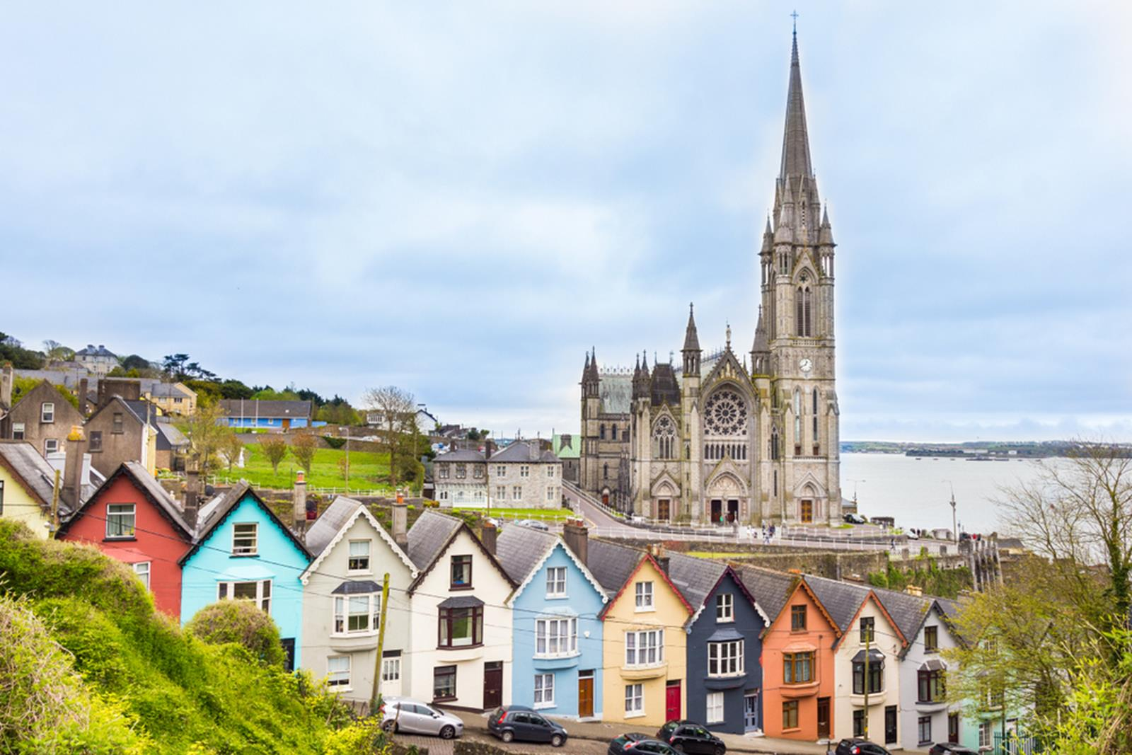 Cathedral in Cobh Ireland